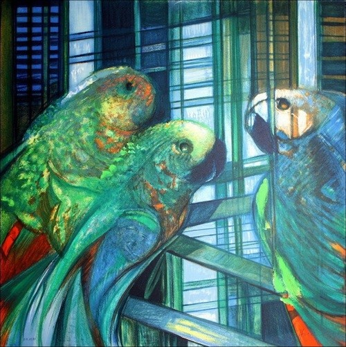 Les perroquets, Hilaire Camille