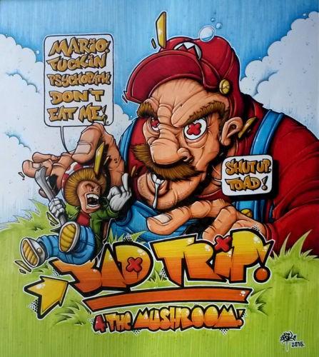 Bad Trip 4 The Mushroom